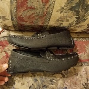 4c2b360b75682 Calvin Klein Men's Merve Leather Driving Loafers S NWT